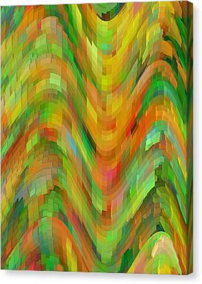 Life's A Rollercoaster Canvas Print by Bonnie Bruno