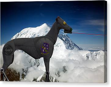 Light Armored Recon Hound Canvas Print by Kevin  Sherf