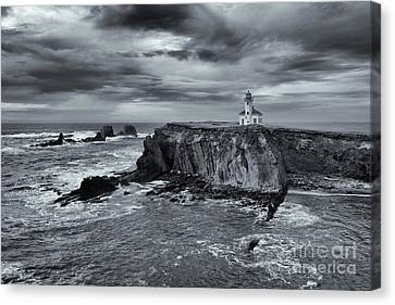 Light Before The Storm Canvas Print by Mike Dawson