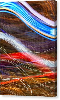Light Flow Canvas Print by Az Jackson