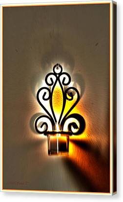 Light For New Beginning Canvas Print by Sonali Gangane