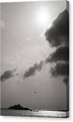 Light Of The Sky Canvas Print by Konstantin Dikovsky