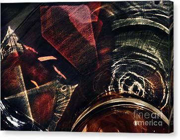 Light Through Glass Canvas Print by Elena Lir-Rachkovskaya