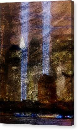 Light Towers Canvas Print by Andrea Barbieri