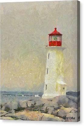 Lighthouse Canvas Print by Jeff Kolker