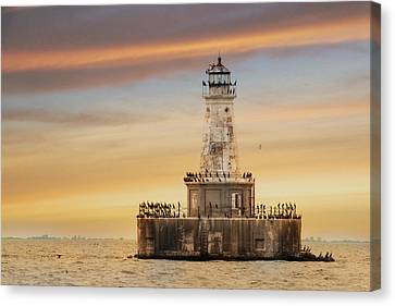 Lighthouse Keepers Canvas Print by Lori Deiter