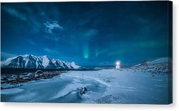 Lighthouse Canvas Print by Tor-Ivar Naess