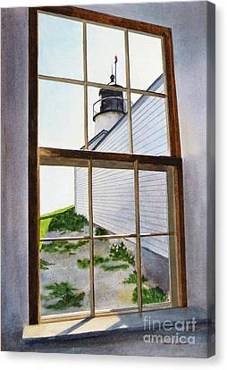 Lighthouse View Canvas Print by Karol Wyckoff