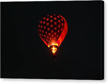 Lighting Up The Dark Canvas Print by Jeff Swan