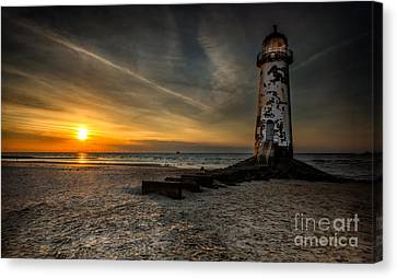 Lights Out Canvas Print by Adrian Evans