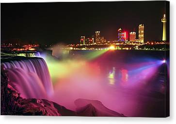 Lightshow Canvas Print by Mark Papke
