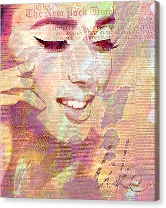 Like Canvas Print by Jacky Gerritsen