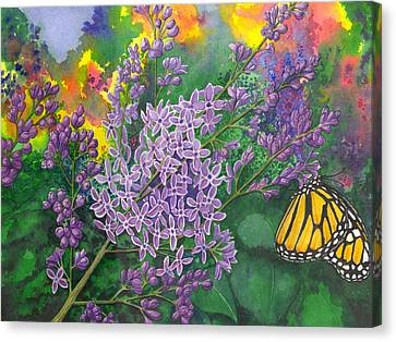 Lilac Canvas Print by Catherine G McElroy