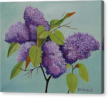 Lilacs Canvas Print by Ruth  Housley
