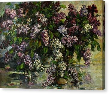 Lilacs Canvas Print by Tigran Ghulyan