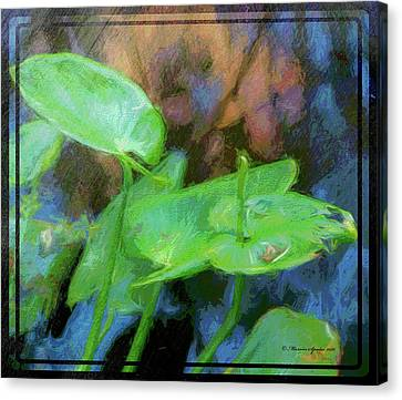 Lilies Canvas Print by Marvin Spates