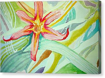 Lilly  Canvas Print by Jame Hayes
