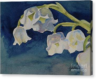 Lilly Of The Valley Canvas Print by Gretchen Bjornson