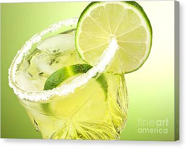 Lime Cocktail Drink Canvas Print by Blink Images