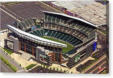 Lincoln Financial Field Philadelphia Eagles Canvas Print by Duncan Pearson
