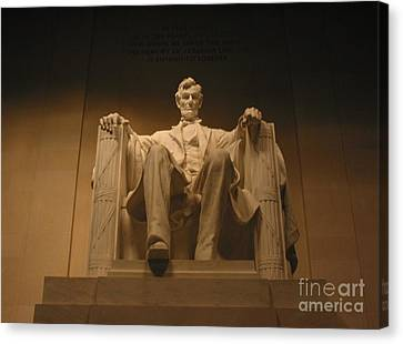 Lincoln Memorial Canvas Print by Brian McDunn