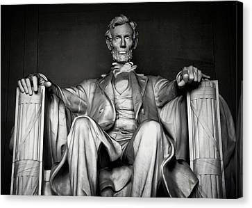 Lincoln Memorial Canvas Print by Daniel Hagerman