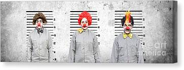 Line Up Of The Usual Suspects Canvas Print by Jorgo Photography - Wall Art Gallery