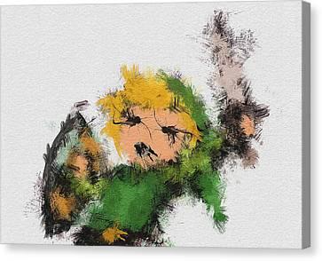 Link Canvas Print by Miranda Sether