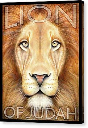 Lion Of Judah Canvas Print by Greg Joens