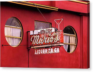 Liquor To Go Canvas Print by Art Block Collections
