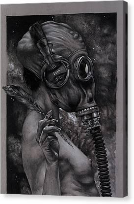 Listen 12 Canvas Print by Brent Schreiber