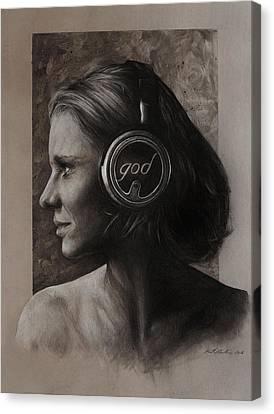 Listen 7 Canvas Print by Brent Schreiber