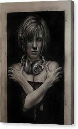 Listen 9  Canvas Print by Brent Schreiber