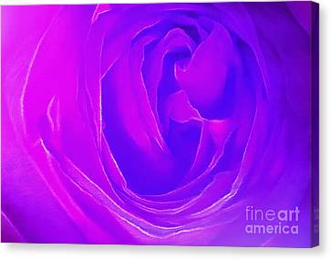 Listen To Your Heart Canvas Print by Krissy Katsimbras
