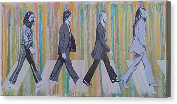 Literally Abbey Road Canvas Print by Gary Hogben