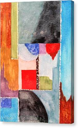 Little Abstract Canvas Print by Jamie Frier