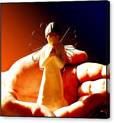 Little Angel Canvas Print by Holly Kempe