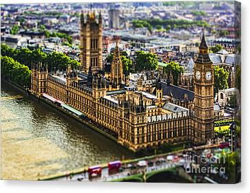 Little Ben Canvas Print by Andrew Paranavitana