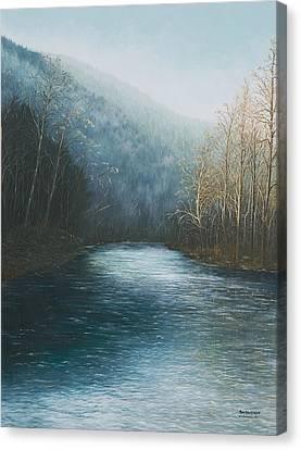 Little Buffalo River Canvas Print by Mary Ann King