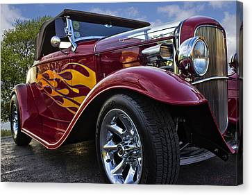 Little Deuce Coupe Canvas Print by Skip Tribby