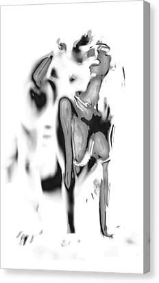 Little Doggy Canvas Print by Stefan Kuhn