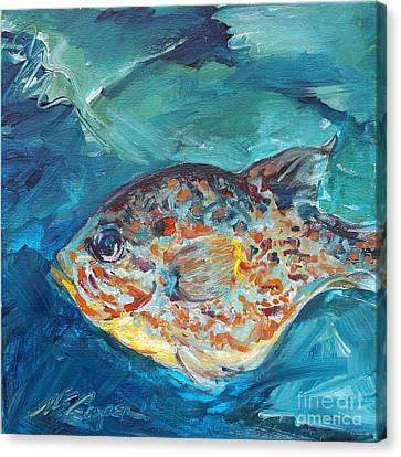 Little Fish Canvas Print by NE Cooper