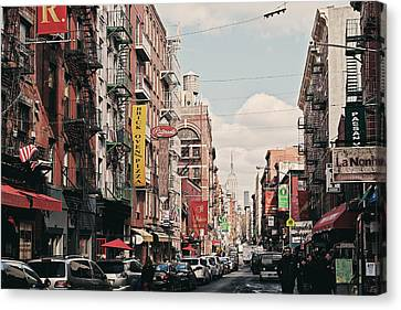Little Italy Canvas Print by Benjamin Matthijs