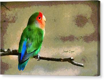 Little Periquito - Da Canvas Print by Leonardo Digenio