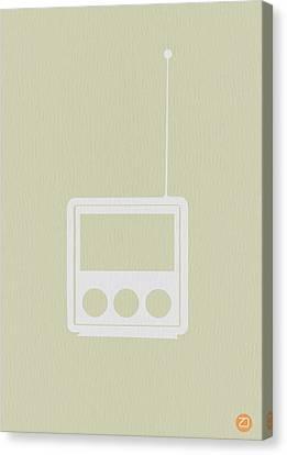 Little Radio Canvas Print by Naxart Studio