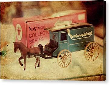 Little Stagecoach Canvas Print by Toni Hopper