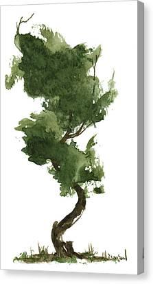 Little Zen Tree 153 Canvas Print by Sean Seal