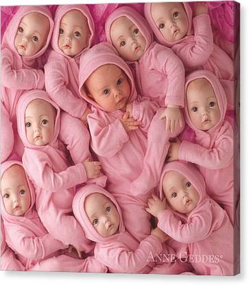 Living Doll Canvas Print by Anne Geddes