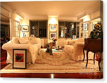 Living Room IIi Canvas Print by Madeline Ellis