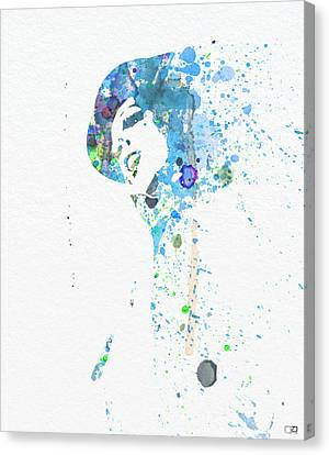 Liza Minnelli Canvas Print by Naxart Studio